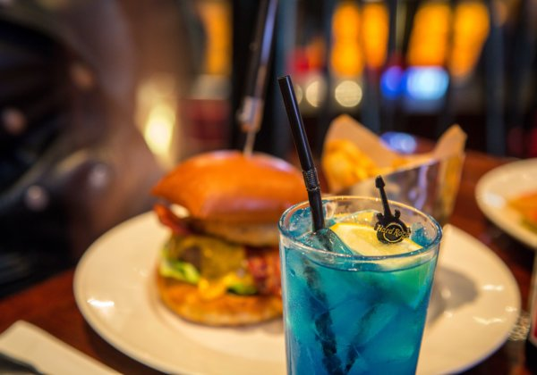 Burger and Cocktails