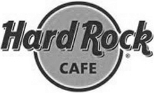 Hard Rock Cafe black and white logo