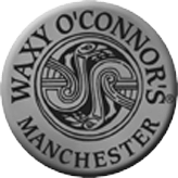 Waxy O'Connor's black and white logo