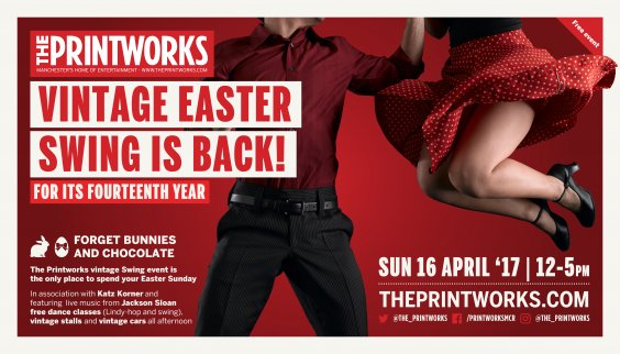 The Printworks 14th Annual Vintage Swing preview image