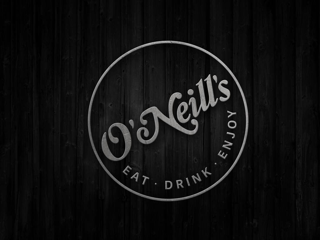 O'Neills black and white logo