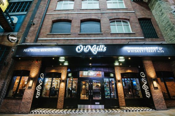 O'Neill's Pubs Unveils Craic-ing New Printworks Bar preview image