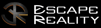 Escape Reality black and white logo