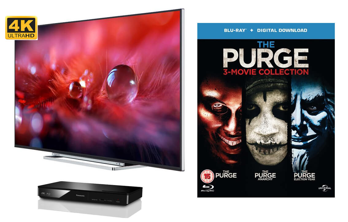 Win! A 4k Ultra LED TV and Blu-Ray Player! - The Printworks