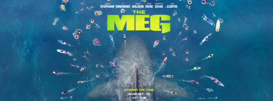 WIN!!! Movie Merchandise for THE MEG preview image
