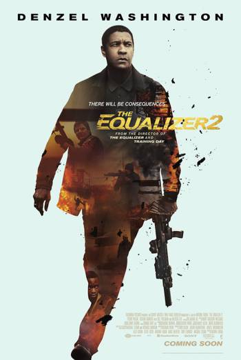 The Equalizer 2 poster
