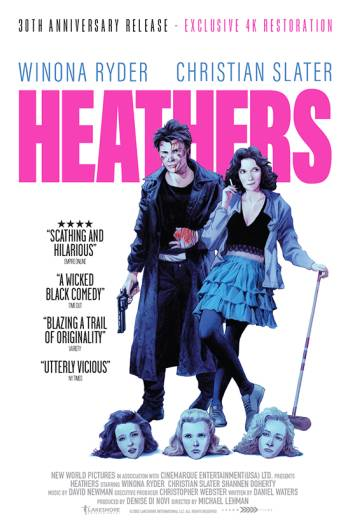 Heathers – 30th Anniversary poster