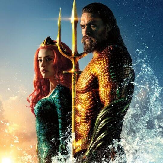 WIN! Movie Merchandise for Aquaman preview image