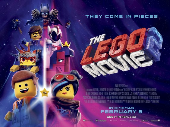 Win!!! Movie Merchandise For The LEGO® Movie 2: The Second Part preview image