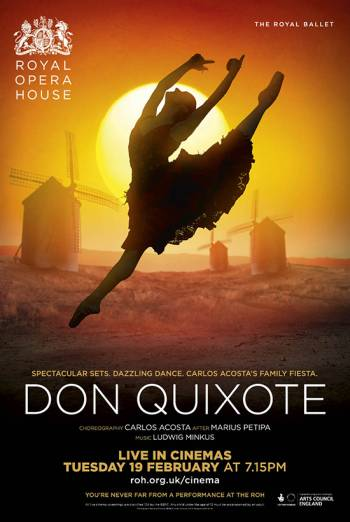 The Royal Ballet: Don Quixote (2019) Encore poster
