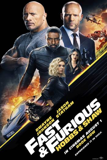 Fast & Furious: Hobbs & Shaw poster