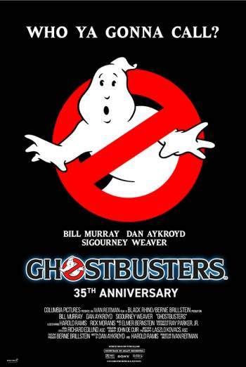 Ghostbusters – 35th Anniversary poster